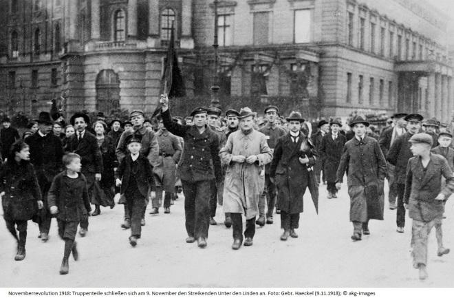 Novemberrevolution Berlin