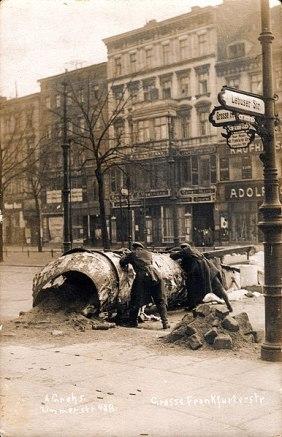 3 Barrikadenkämpfe während der Novemberrevolution